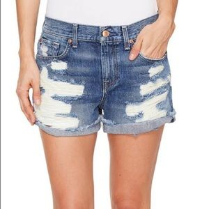NWOT 7 For All Mankind Cut-Off Shorts 26
